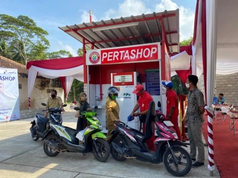 Pertamina Hadirkan Pertashop Bumirejo di Kulon Progo