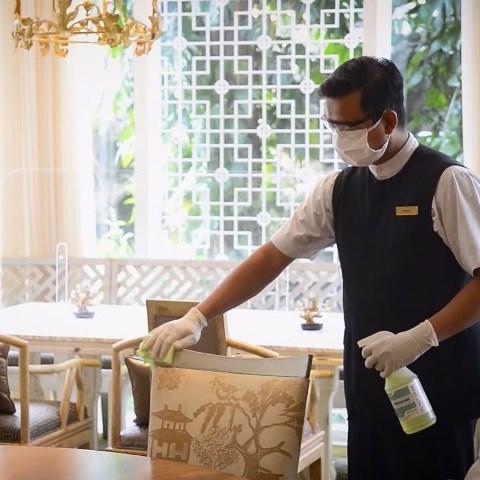 Kemenparekraf telah mengeluarkan handbook berupa panduan umum dan khusus meliputi manajemen atau tata kelola hotel dan restoran. (Foto: Dok. Instagram Hotel Mulia Senayan, Jakarta/@hotelmulia)