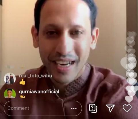 Kembali Punya Instagram, Nadiem Pilih Kelola Sendiri Akunnya