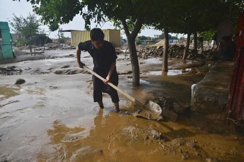 Banjir Bandang Terjang Afghanistan, 46 Orang Tewas