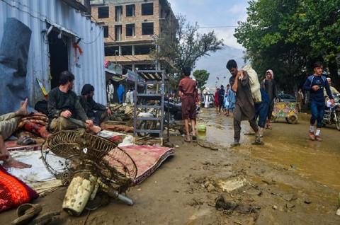 70 Orang Tewas dalam Banjir Bandang di Afghanistan