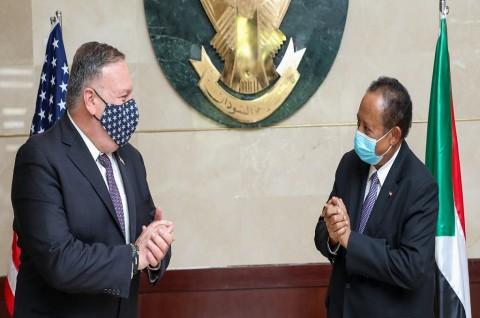 AS Dorong Sudan untuk Normalisasi Hubungan dengan Israel