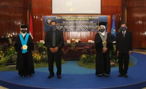Universitas Brawijaya Kukuhkan Dua Guru Besar Baru