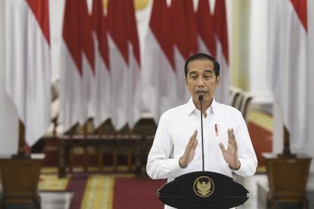 Jokowi Resmikan Program Subsidi Gaji