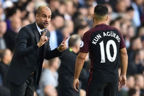 Manchester City Segera Perpanjang Kontrak Aguero dan Guardiola