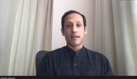 Nadiem Berharap PGRI dan Muhammadiyah Kembali Gabung POP