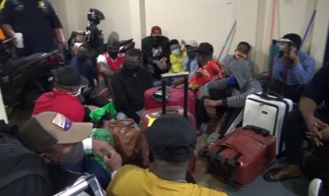 44 WNA Terjaring Razia Imigrasi di Jakarta Pusat