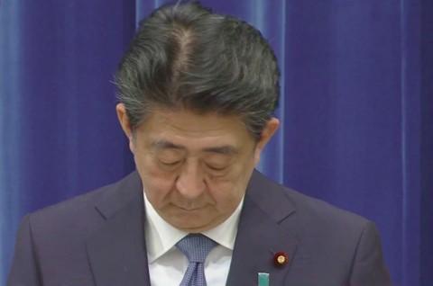 Shinzo Abe Resmi Mundur dari Jabatan PM Jepang