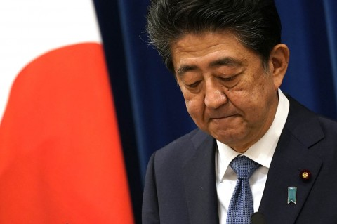 Shinzo Abe Mundur dari Jabatannya