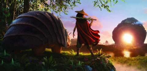 Potret Perdana Film Raya and the Last Dragon, Rilis Maret 2021
