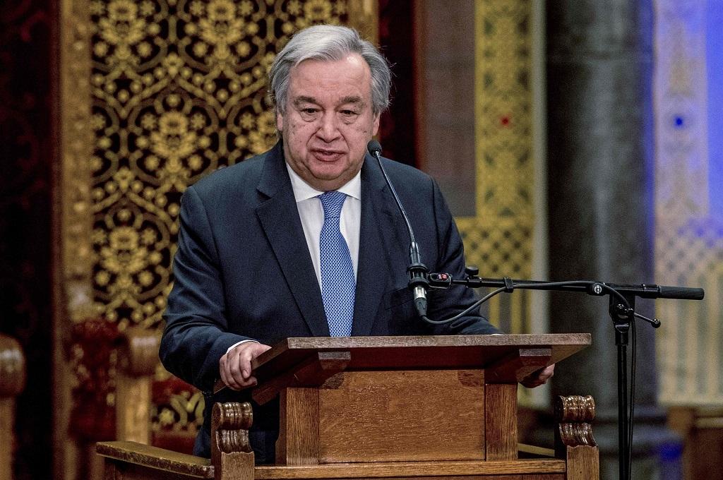 Sekjen PBB Antonio Guterres. (Foto: AFP)