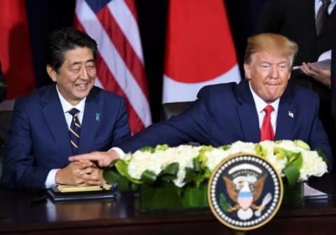 Trump Beri Penghormatan Tinggi Atas Mundurnya PM Jepang