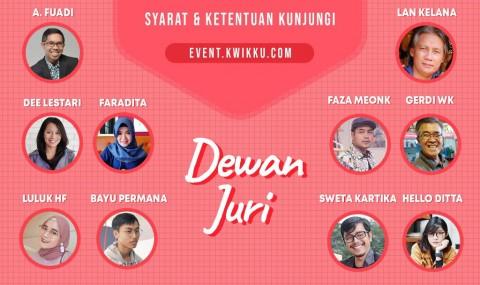 Komik & Novel Pilihan Dee Lestari dan Faza Meonk di Kompetisi Kwikku