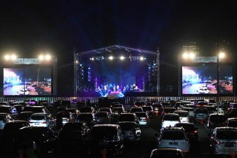 Konser Drive-In Pertama di Jakarta Sukses Digelar