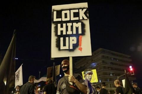 Aksi Protes Mengecam Netanyahu Masuki Pekan ke-11
