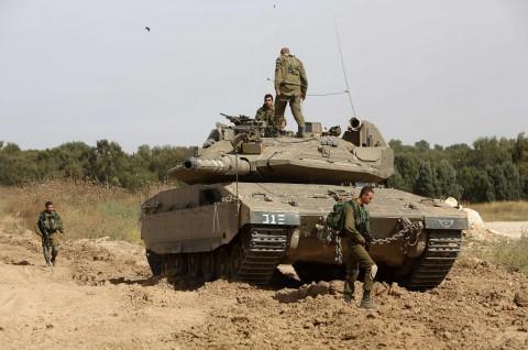 Tank Israel Hancurkan Beberapa Pos Hamas di Gaza