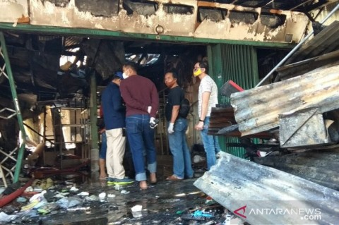 5 Tewas dalam Kebakaran di Blauran Surabaya