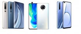 Adu Flagship Xiaomi Mi 10, Poco F2 Pro, dan realme X50 Pro 5G