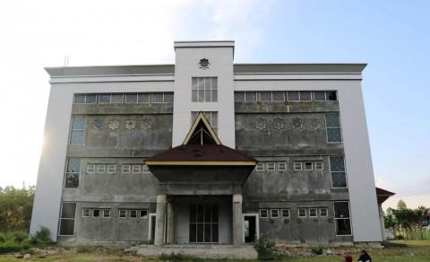 Sempat Tertunda, Konstruksi Gedung Rektorat IAIN Rampung