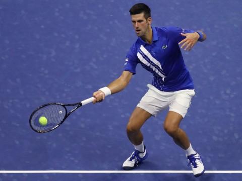Novak Djokovic Agak Kesulitan Lalui Babak Pertama US Open