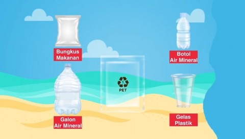 Daur Ulang Limbah Plastik Bernilai Ekonomi Tinggi