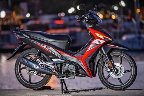 Honda Supra 'Bapak' X 125 Harganya Hampir Rp 50 Juta di Yunani