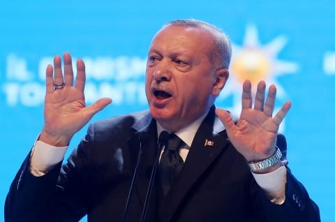 Erdogan Sebut Yunani 'Umpan' yang Dimanfaatkan Pihak Lain