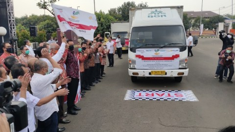Penyaluran Bansos Beras ke 10 Juta Penerima Dilakukan <i>Door to Door</i>