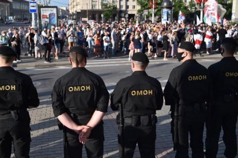 78 Orang Ditangkap dalam Demo Lanjutan di Belarusia
