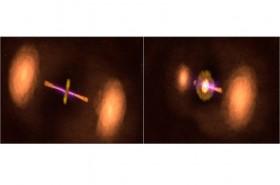 NASA Temukan Galaksi Mirip Kapal Darth Vader