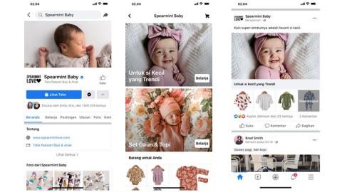 Bantu UKM Berbisnis Online, Facebook Perkenalkan Fitur Shops