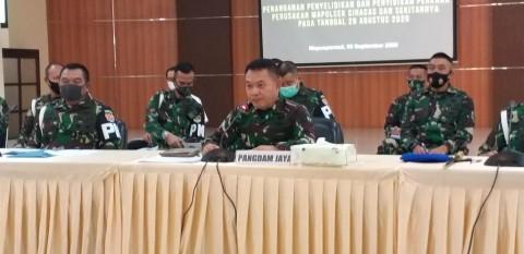 TNI Telah Ganti Rugi Perusakan Polsek Ciracas Rp305 Juta