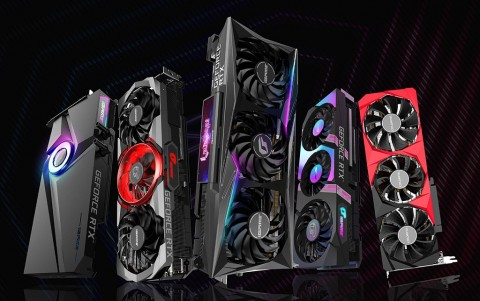 NVIDIA GeForce RTX 3000 Series Colorful Pakai Pendingin Air