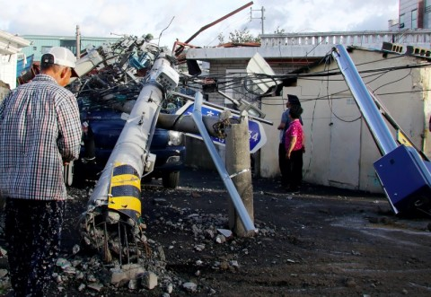 Lebih dari 2.200 Orang Dievakuasi dari Topan Maysak di Korsel