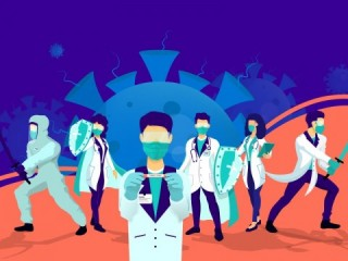 Nadiem Pinjam Laptop Guru Sapa Siswa Sedang Belajar Daring Medcom Id