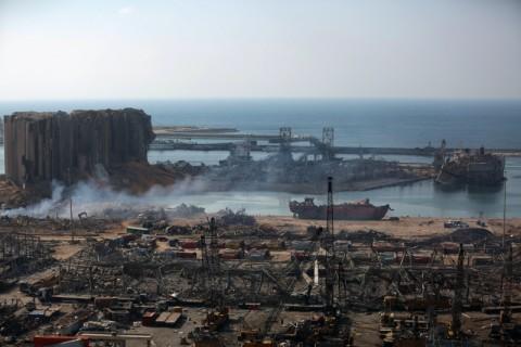 Sebulan Usai Ledakan Beirut Tanda Kehidupan Terdeteksi di Balik Puing