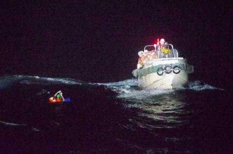 Penjaga Pantai Jepang Angkut ABK Lain dalam Kecelakaan Kapal Ternak