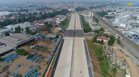 Cengkareng-Kunciran Toll Road Expected to be Completed This Year