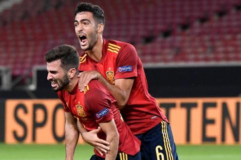 Spanyol Tahan Imbang Jerman 1-1