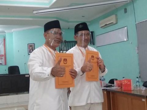 Diusung 5 Partai, Bambang Haryo dan Taufiqulbar Daftar ke KPU Sidoarjo