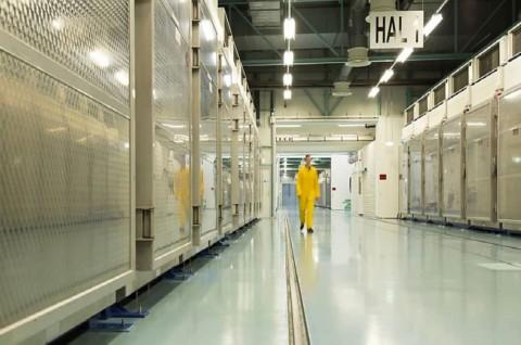 Pasokan Uranium Iran 10 Kali Lipat Melebihi Batas