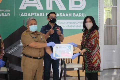Swasta Kembali Bantu Penanganan Covid-19 di Jabar