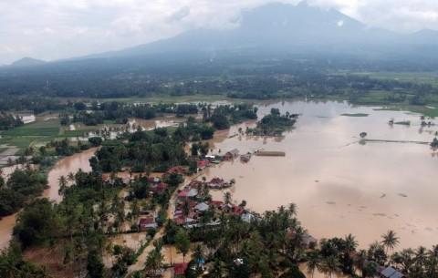Sungai Harau Meluap, Kabupaten Lima Puluh Kota Terendam Banjir