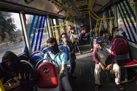 Peningkatan Pengguna Kendaraan Umum di Jakarta Hanya 4%