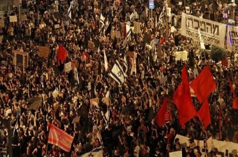 Unjuk Rasa Menentang PM Israel Masuki Bulan Ketiga