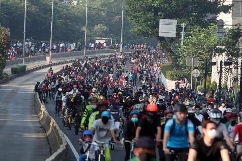 Kajian Sepeda Masuk Tol Diumumkan Pekan Depan