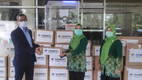 Dompet Kemanusiaan Media Group Terima Donasi Rp21,566 Miliar