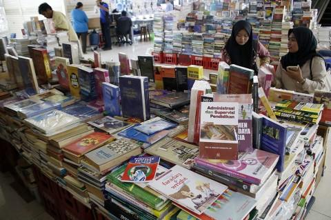 Penerbit Buku Merugi hingga 80% saat Covid-19