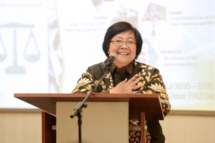 Menteri Lingkungan Hidup dan Kehutanan Siti Nurbaya. Dok. KLHK