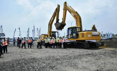 Pembangunan Akses Tol Bandara Internasional Kertajati Dimulai